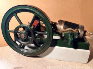 OSCILLATING Single Cylinder Workshop Engine Miniature