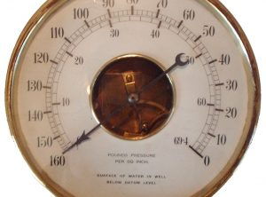 Pressure Gauge 9″ Open Face Type