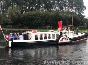 "Paddle Steamer ""MONARCH"""