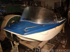 Cross-channel Pedalo Boat