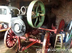 PEERLESS Portable Steam Engine