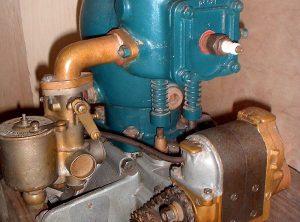 PEUGEOT Single Cylinder Car Engine, c1904