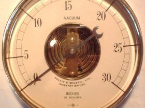 POLLIT 7″ Open Face Vacuum Gauge