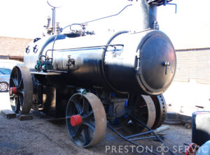 RN Dockyard Portable Steam Boiler