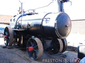 RN Dockyard Portable Steam Boiler
