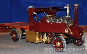 2 Inch Scale FODEN Steam Wagon