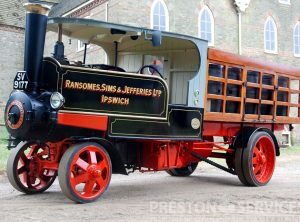 RANSOMES 5 Ton Steam Wagon