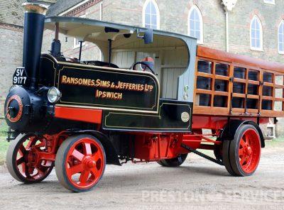 RANSOMES 5 Ton Steam Wagon