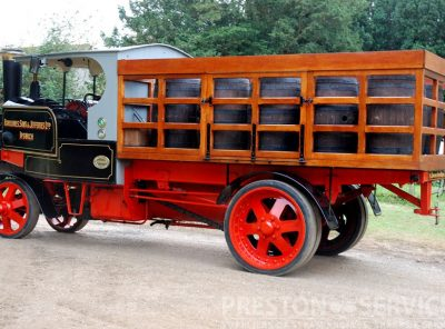 PRESTON SERVICES - Suppliers of all types of steam engines