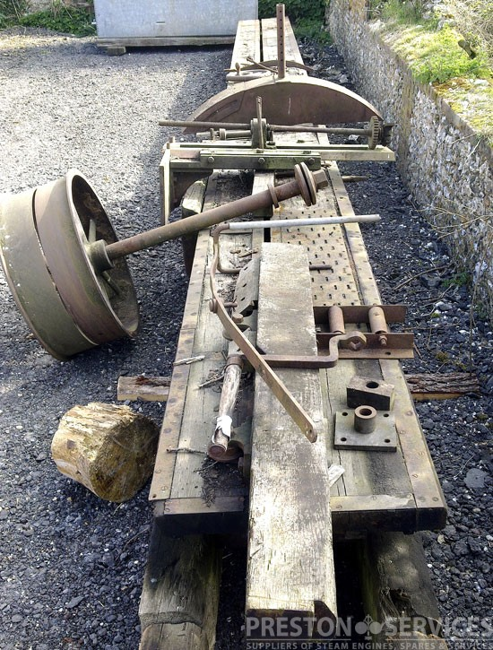 4 6 Quot Blade Circular Saw 53 Ft Bed Rack Saw Preston Services