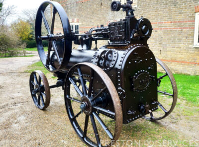 RANSOMES, SIMS & JEFFERIES 2 NHP PORTABLE STEAM ENGINE