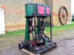 RANSOMES, SIMS & JEFFERIES Compound Marine Engine