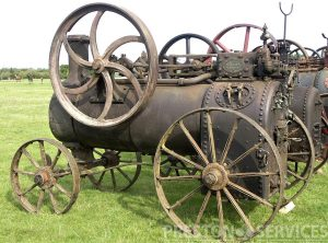 RANSOMES, SIMS & JEFFERIES 3 NHP Portable Steam Engine