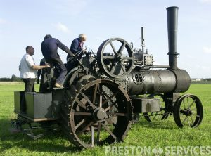 RANSOMES 60 HP Traction Engine