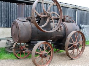 RANSOMES, SIMS & JEFFERIES 8 NHP Portable Steam Engine