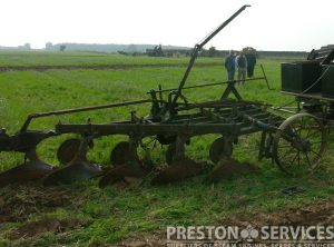 RANSOMES 5-6 Furrow Hexatrac Plough