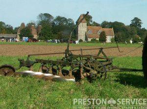 RANSOMES 5-6 Furrow Hexatrac Plough
