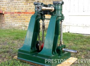 REIDS Twin High Pressure Marine Engine