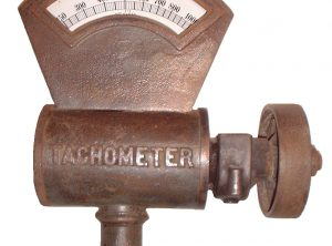SHAEFFER & BUDENBURG Tachometer, Stationary or Marine Engine