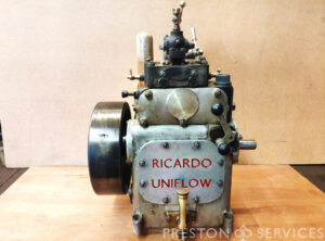 RICARDO Uniflow Steam Engine