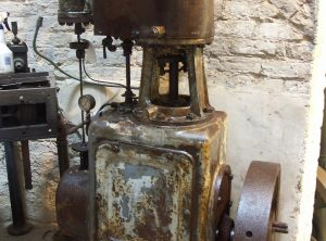 ROBEY Single Cylinder Vertical Engine