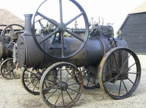 ROBEY 6 NHP Portable Steam Engine c1878