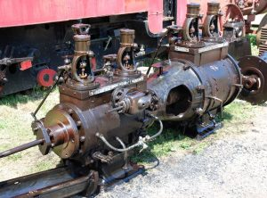 "ROBEY Tandem Compound Horizontal Mill Engine Cylinders 9½"" + 15½"" x 20″"