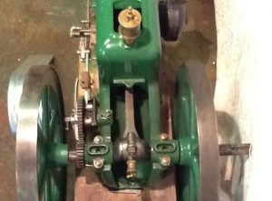 ROOT & VANDERVOORT Hit and Miss Stationary Engine
