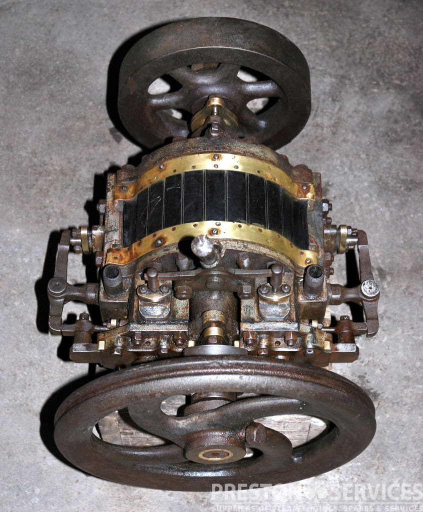 Used Small Boat Engines For Sale: OUTRIDGES PATENT Rotary Steam Launch Engine
