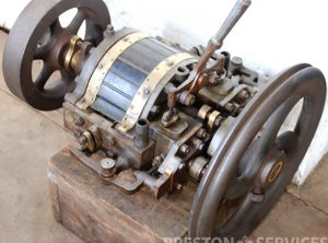 OUTRIDGES PATENT Rotary Steam Launch Engine