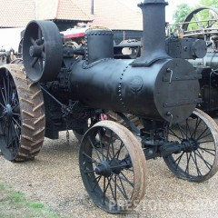 ADVANCE RUMELY Traction Engine