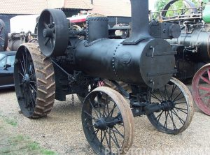 ADVANCE RUMELY 3 NHP Traction Engine