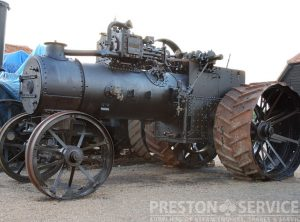 RUSTON & HORNSBY 12 NHP Traction Engine