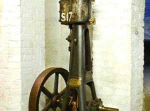 RUSTON PROCTOR Vertical Workshop Engine, Cylinder 4″ x 8″