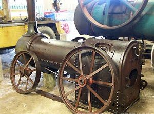RUSTON PROCTOR 2 NHP Portable Steam Engine