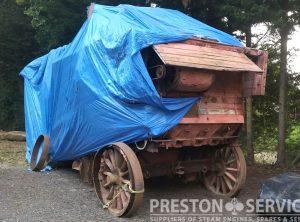 RUSTON HORNSBY Threshing Machine
