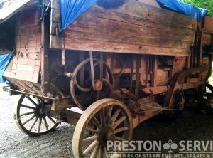 RUSTON HORNSBY Threshing Machine