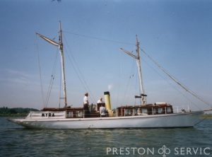 "Steam Yacht ""MYRA"""