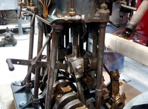 SISSON Triple Expansion Marine Engine