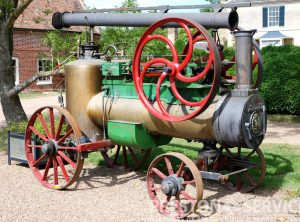 MERLIN S.F.V. 6 NHP Portable Steam Engine