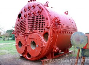 'Scotch' Marine Boiler, Oil Firing Ships Boiler