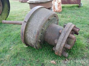 SENTINEL S6 Tipper Waggon Axle Remains