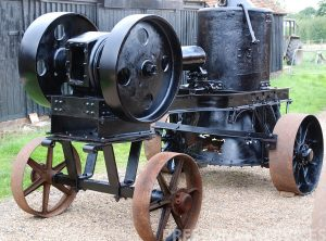 SENTINEL 20-30 BHP Portable Steam Engine