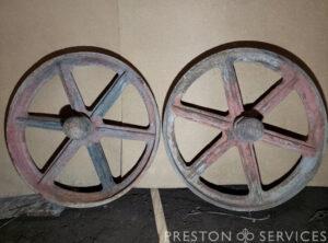 SENTINEL Steam Waggon Wheels (Pair)