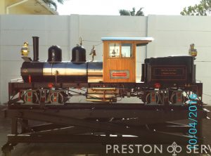 7¼ Inch Gauge SHAY Locomotive