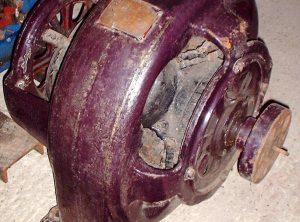 Vintage 110 Volt D.C. Dynamo