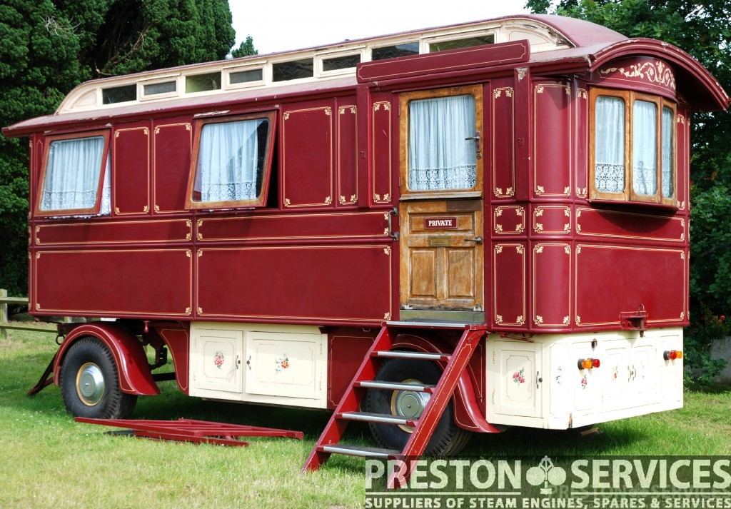 Cool 1930s Mollycrofted Showman39s Wagon  Seen 2010  Photo  Ceri