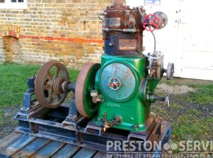 SISSONS 8 H.P. Enclosed Steam Engine