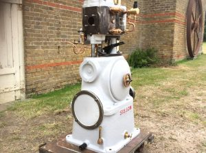 SISSONS 8 HP Enclosed Generator Engine