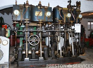 SISSONS Quadruple Expansion Marine Engine